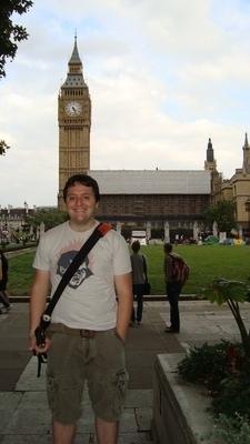 Me in front of Ben Big - real original.